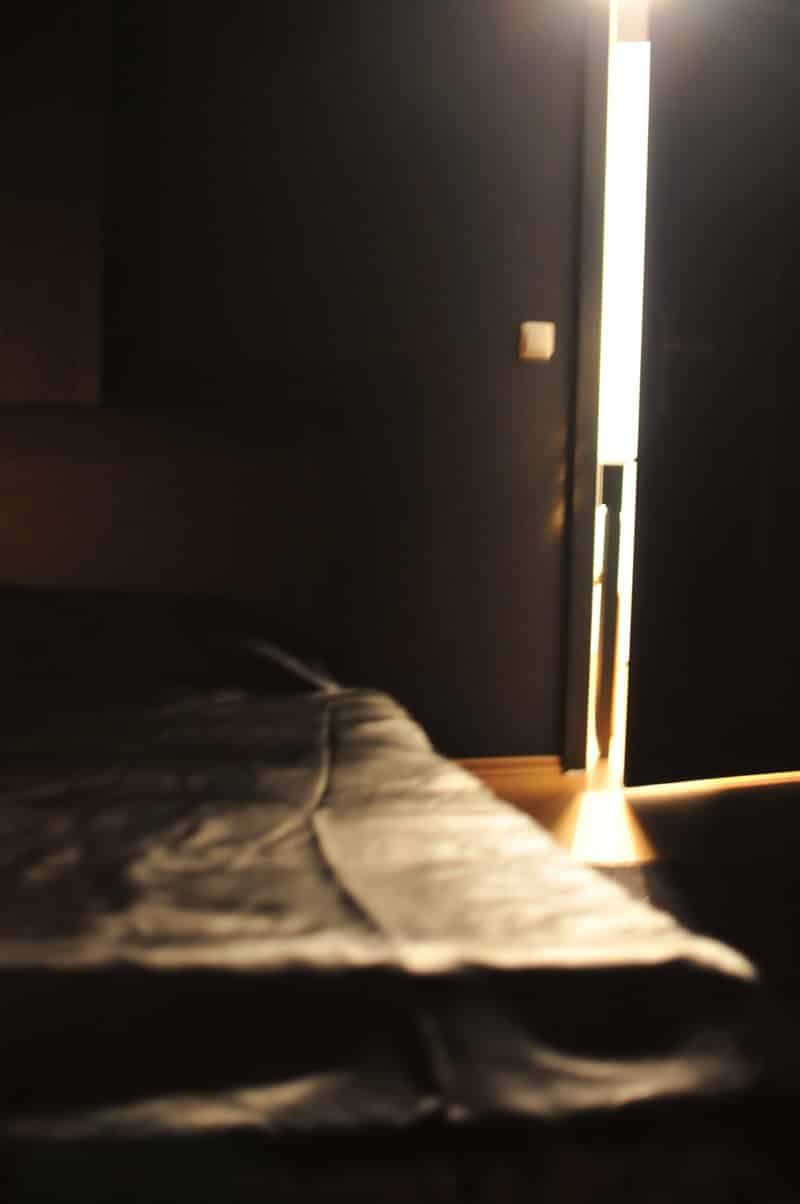 Dunkelraum für Dunkelretreat