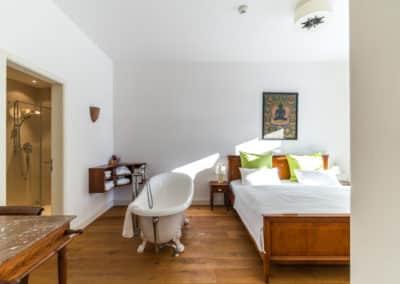 Buddha-Suite Schlafzimmer